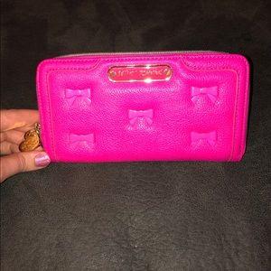 Betsey Johnson Hot Pink Wallet